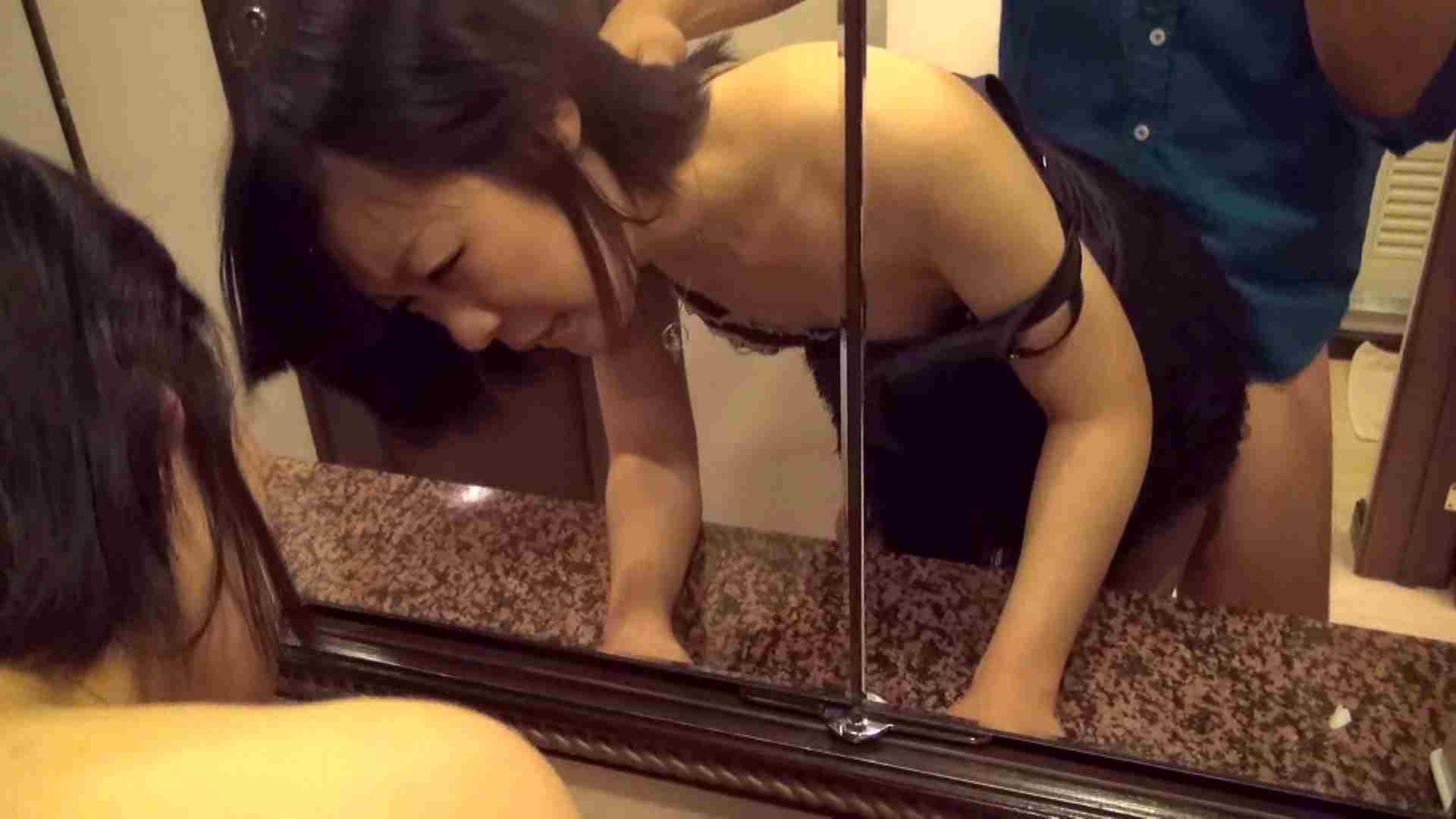 【女の時・02】ホテルに到着し直後に洗面台の前で 手マン AV動画キャプチャ 85枚 74