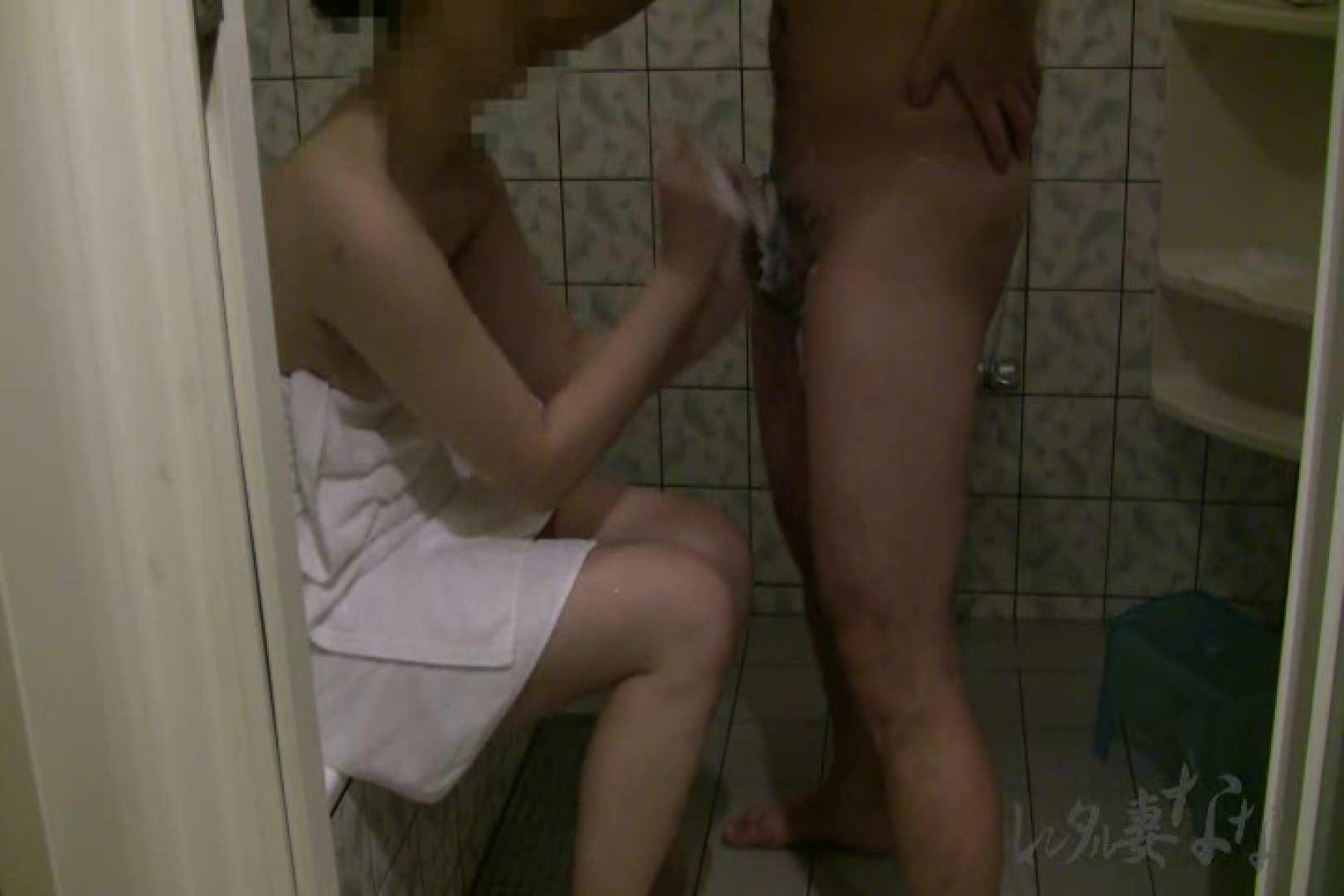 レンタル妻ななvol.5 お風呂で剃毛編 手マン オメコ動画キャプチャ 84枚 47
