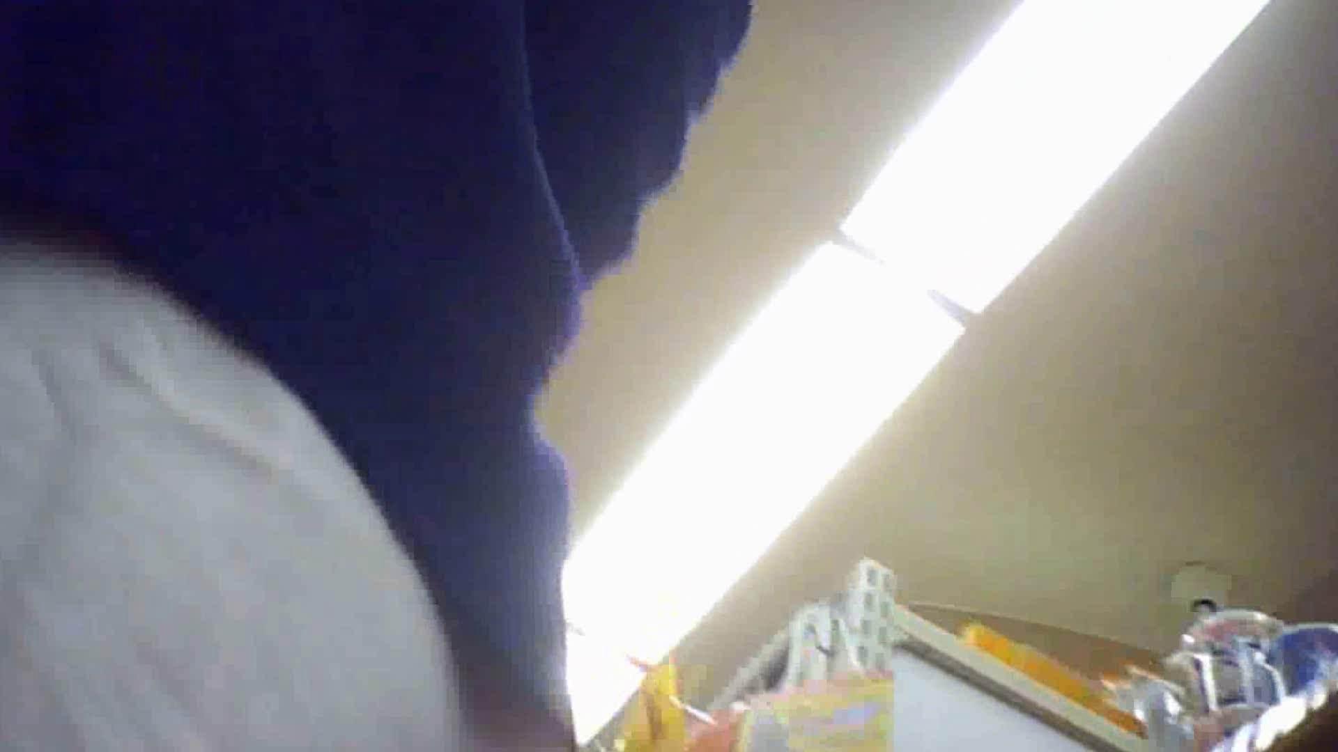 真剣に買い物中のgal達を上から下から狙います。vol.10 JK流出のぞき  103枚 66